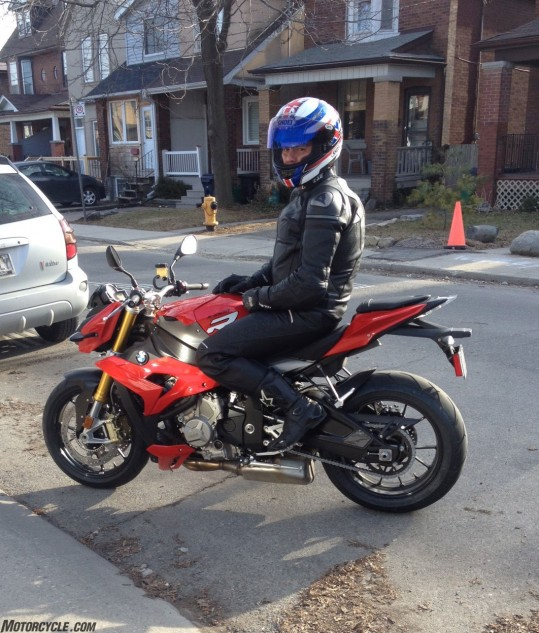 Bigger and faster bikes reinforced the author's interest in becoming a more skilled rider. He's now moved up from his F800R to an S1000R.