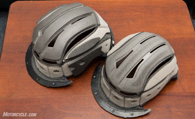 Shoei Persona Fitting System helmet liners