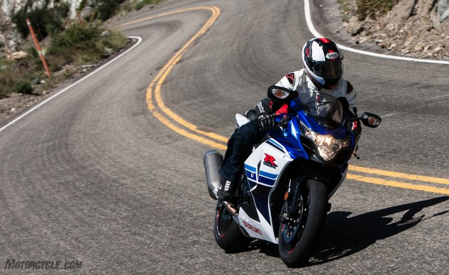 The GSX-R1000 is proof that low-tech can still be big fun.