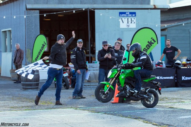 If you're looking for cheap thrills, then Kawasaki has a winner with the Z125 Pro. And yes, it'll pull clutch-up wheelies. All that's left to do now is a battle royale with the Honda Grom.