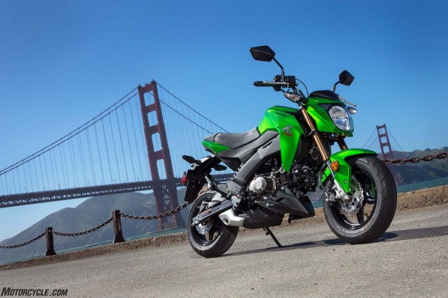 Kawasaki is looking to steal a certain Red company's lunch money with the Z125 Pro.
