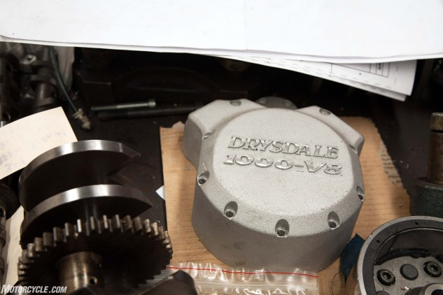 The sand-cast crankcases are the work of Ian and the late Neil Kilner of Accurate Patterns.