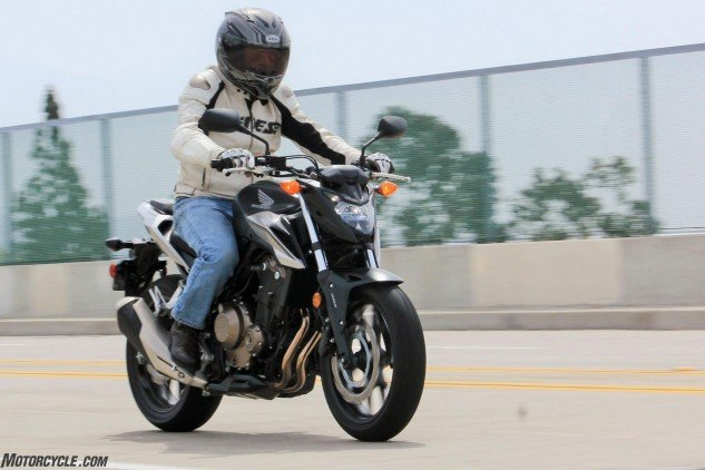 """Any manufacturer wishing to build a """"standard"""" motorcycle should take their measurements from this one."""