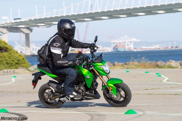 Kawasaki's Z125 Pro is poised to take a big bite from Honda's pie. Looking at the specs, the two are similar in many ways.