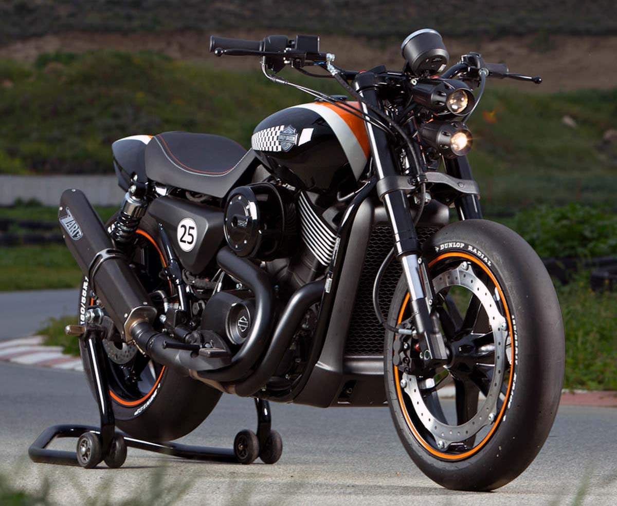 Harley davidson s street 750 is a highly customizable international feast - Harley street 750 images ...