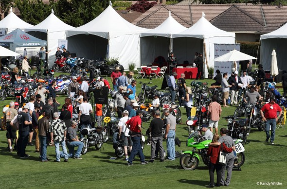 Overview of the Quail Motocycle Gathering 2016.