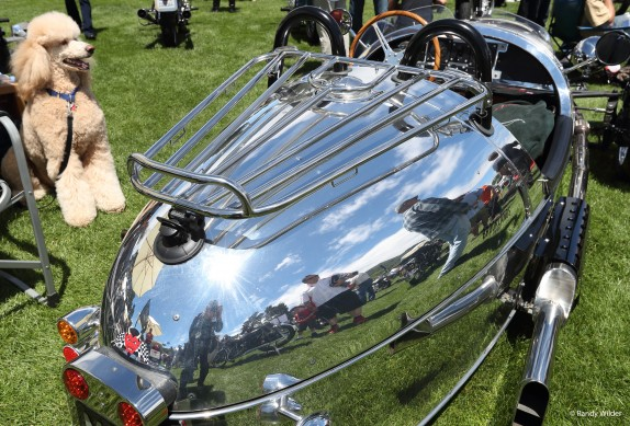 MOG cyclecar at the Overview of the Quail Motocycle Gathering 2016.
