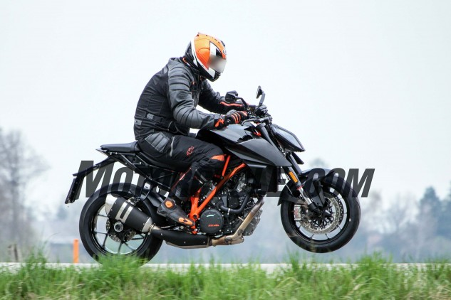 Big torque will continue to be one of the Super Duke's most attractive features.