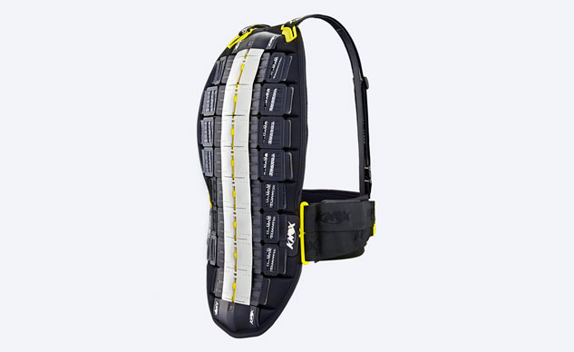 ACE Level-2 protector like the Knox Aegis offers a high level of protection from direct blows to a rider's back, but it wasn't intended to protect from twisting or hyperextension injuries.