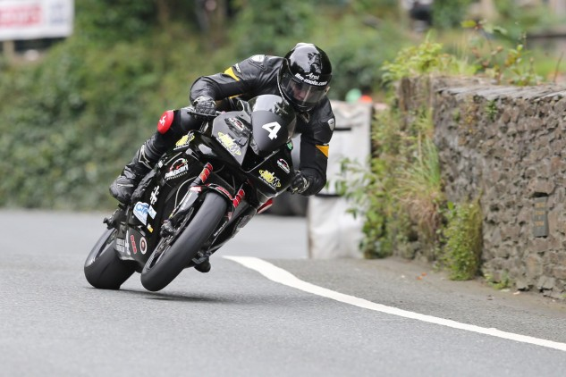 The late Billy Redmayne during Junior Manx Grand Prix 2015. Credit Dave Kneen at Pacemaker Press International