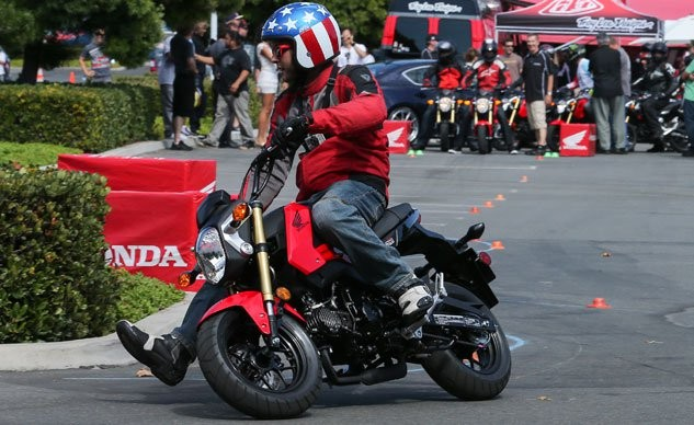 The Honda Grom has been a sales success, so it's natural for others to want a piece of that pie.