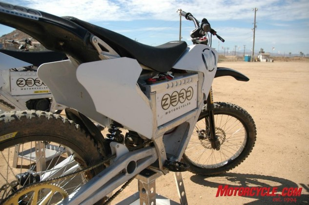 Zero Electric Motorcycles has heaps o' upgrades planned for the 2009 X model.