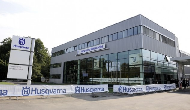 BMW built this spanking new factory for Husqvarna in 2009.