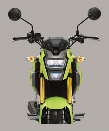 As it did with its 500 series models, Honda is switching the Grom's lighting to LEDs.