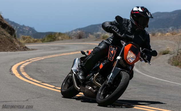 Objectively, the KTM 690 Duke is superior in many ways to the other bikes here. Less weight, great agility, and more tech help offset the higher price tag. It's clearly a very good motorcycle, but our eclectic tastes resulted in a split decision.