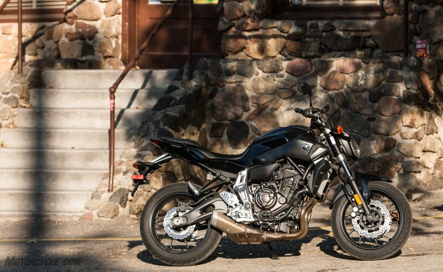 Try as Suzuki might, the new SV650 comes up short to the Yamaha FZ-07. While not a perfect motorcycle, the Yamaha's engine delivers strong bottom-end and midrange power. Its handling woes can likely be solved with a few choice upgrades from the aftermarket, and the relatively tight ergos are really only a problem if you're big and tall.