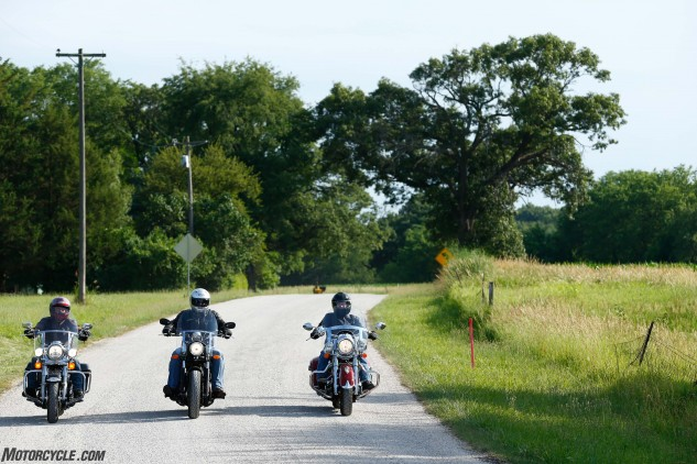 The fact that half the State of Illinois was undergoing road construction put us well behind schedule as we headed toward our first meeting with folks at Springfield Armory in Geneseo, Illinois, so we were more than happy to hop off the Interstate and cruise some good old American gravel back-country roads.