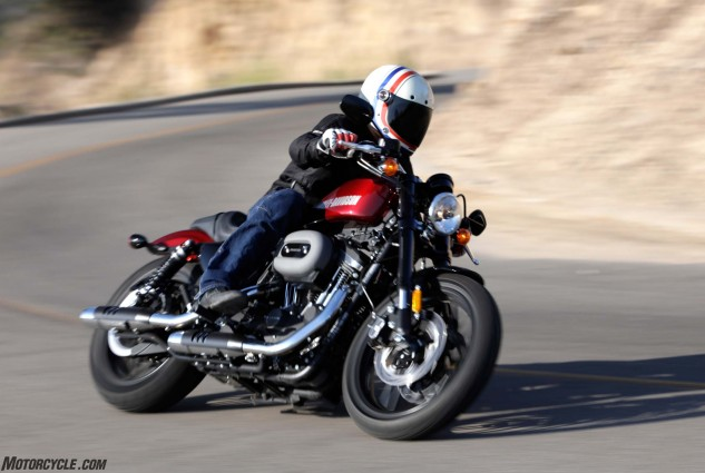 The Roadster is best summed up as super badass in-you-face mofo that's slow to steer, slow accelerate and slow to stop. Oh, and heavy too. Jester picked it third, though, in front of the Guzzi – the only one of us to do so.