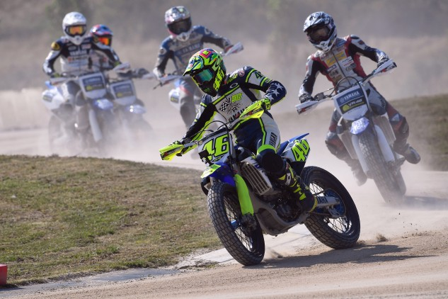 How did you spend your summer vacation? Valentino Rossi spent part of his working with young riders at his VR46 Riding Academy.