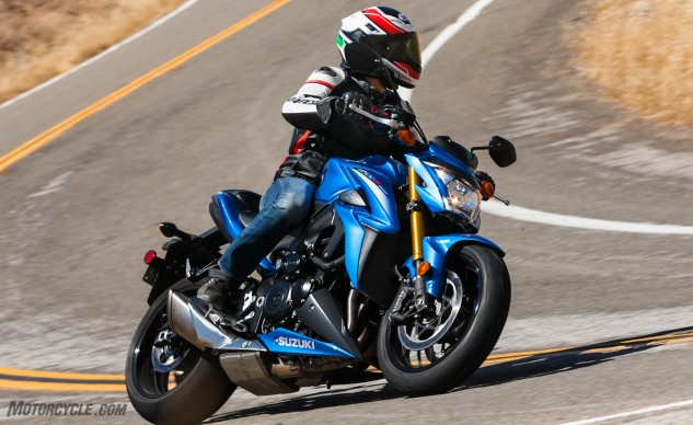 Honorable Mention Suzuki GSX-S1000