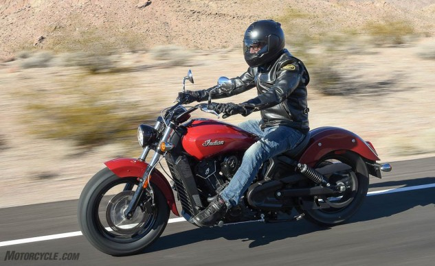 Best Cruiser of 2016 Indian Scout Sixty