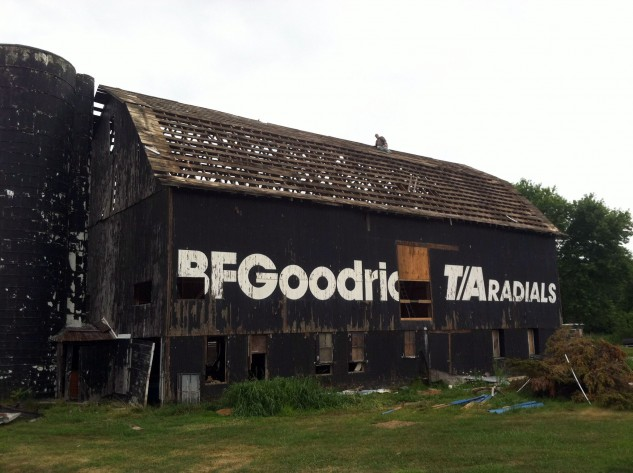 For years the B.F. Goodrich barn welcomed some of the most talented racers on the continent to Nelson. The barn is now gone, but the track remains.