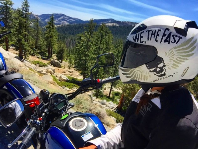 The ride through Yosemite National Park was an opportunity to reflect on the past few days.
