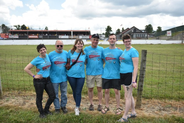 From left: Sarah Van Buren (Great-Grand Niece), Robert Van Buren (Great-Nephew), Sophie Ruderman (Great-Granddaughter), Dan Ruderman (Grandson), Skyler Ruderman (Great-Grandson), Anna Bottcher (Skyler's Fiance).