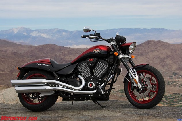 The 2007 Victory Hammer S.