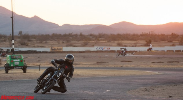 Bill Oney taking the K-Pipe into the twilight hours.