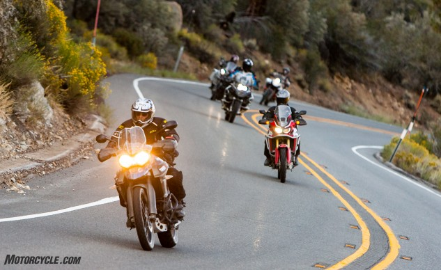 Adventure bikes are available in a variety of sizes, weights and prices. Some are more off-road-worthy, while others prefer paved adventures, and a few can almost match a Gold Wing bell-for-bell and whistle-for-whistle in a touring role.