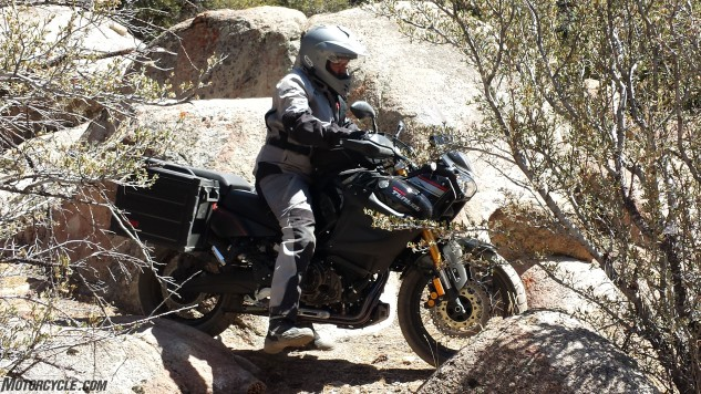 Tragedy would strike our Yamaha Super Ténéré prior to our photo/video session leaving few images of the Ténéré in-action. We still flogged it on the street ride, and most of the dirt portion, surprising no one with its preference for paved roads over dirt ones.