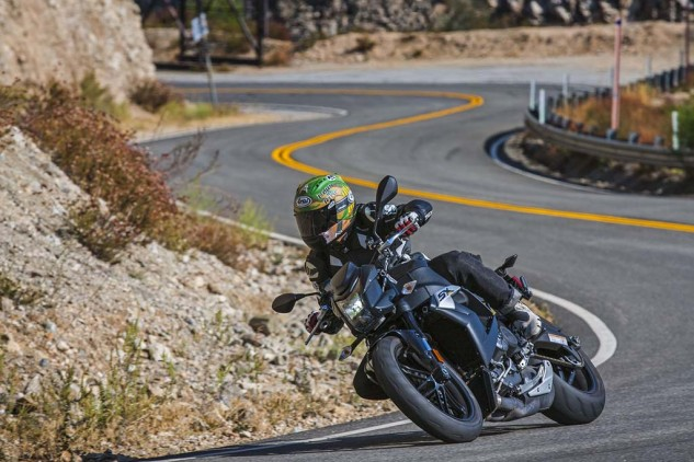 When we last tested the EBR 1190SX its MSRP was $16,995. That price has been reduced by $4k to a much more enticing $12,995, putting it dead even with the Yamaha as the two most affordable naked bikes here.