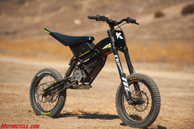 Part electric motorcycle, part mountain bike, the Kuberg Freerider is definitely something different.