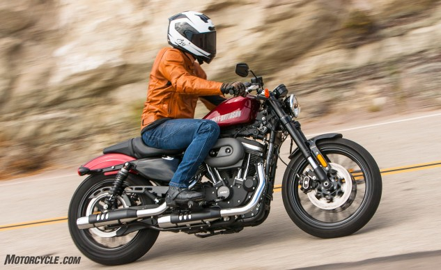 Low bars, good brakes, and a modicum of cornering ability: The Harley Roadster ain't your average Harley-Davidson.