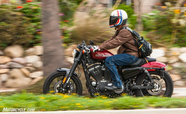 """""""The Roadster makes me feel like a WWII bomber pilot looking to start a bar fight,"""" says Tom."""
