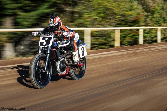 Indian's new Scout FTR750 is on a mission to conquer the world of American flat track racing. Motorcycle.com guest tester Chris Carr swung a leg over the machine to evaluate it on the day after the 2016 AMA Pro Flat Track season-ending Santa Rosa Mile.