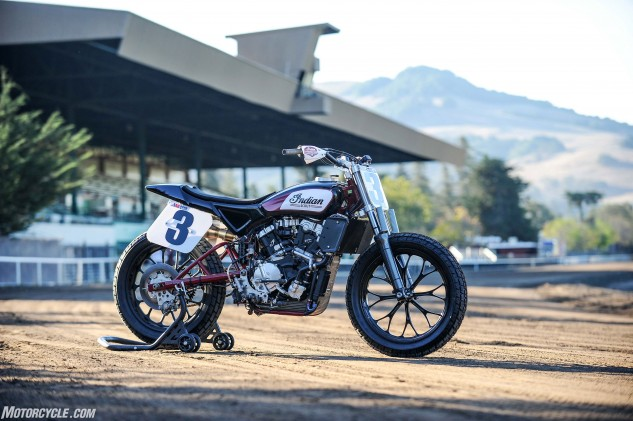 Indian hasn't just built an all-new flat-track machine, it has also hired three of the best riders on the circuit to form its 2017 factory racing team. The new wrecking crew will consist of current champion Bryan Smith and former champions Jared Mees and Brad Baker. Smith won the 2016 title aboard a Kawasaki. Mees and Baker are former Harley-Davidson riders.