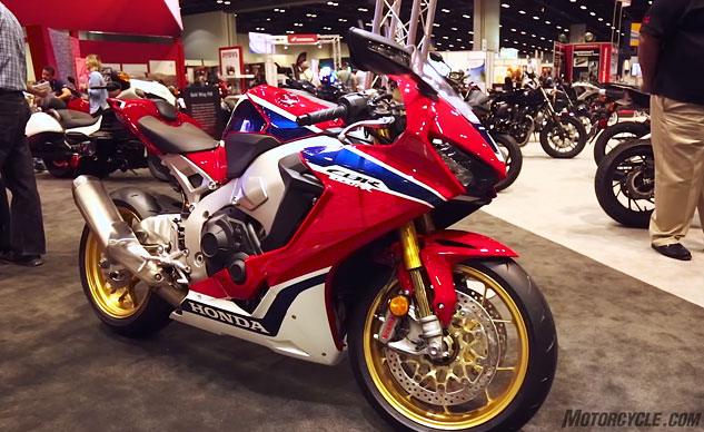 2017 Honda Cbr1000rr Sp And Sp2 Video From Aimexpo