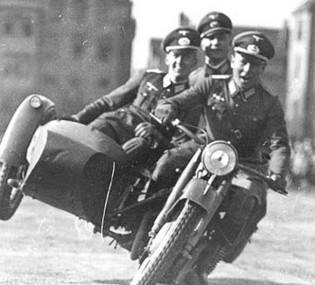 Motorcycle training in Germany is formal and rigorous, but still fun.