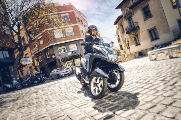 Yamaha's Tricity has been available in Europe for a couple of years, and the company has made it clear there will be more leaning trikes coming. Last year Yamaha displayed the MWT-9 Concept.