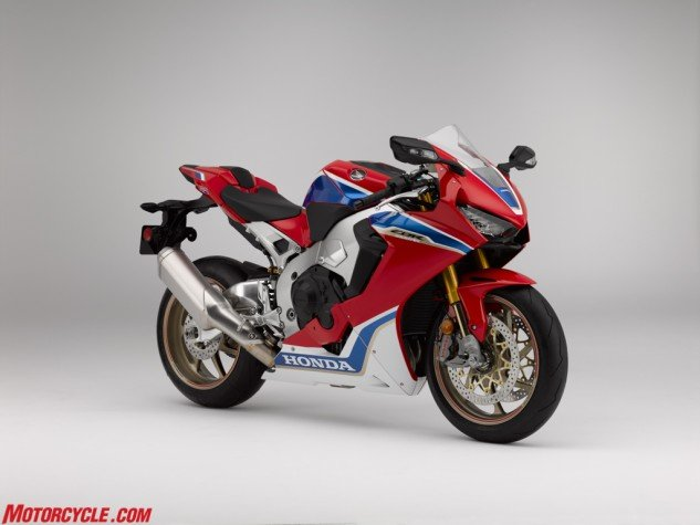 Honda's homologated racing special, the CBR1000RR SP2 will be sold in extremely limited quantities. If you want one, you better be one of the best – in the world.