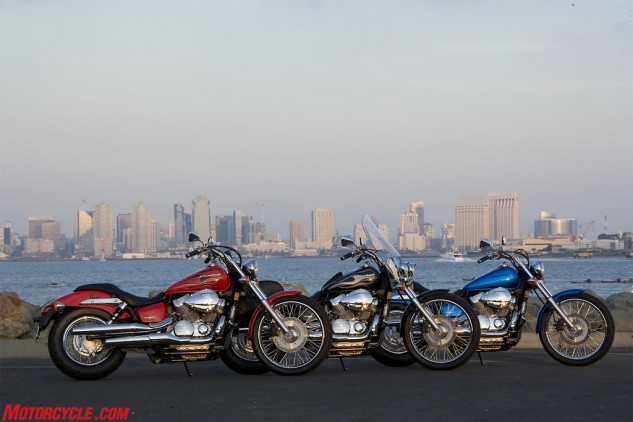 Solid color, flame color or accessorized. Any way you take it, the Honda Shadow 750 might just be around for another 25 years.