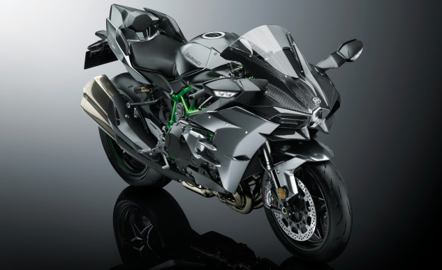 2017 Kawasaki Ninja H2 And Ninja H2r Preview