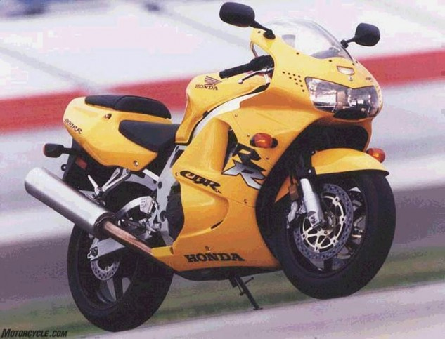 The 1998 Honda CBR900RR was a major upgrade from the 1997 version and really fun to ride, but its 115 rear-wheel horsepower seems quaint by today's standards. This was back when your superbike could carry your lunch in a handy cavity under the pillion seat!