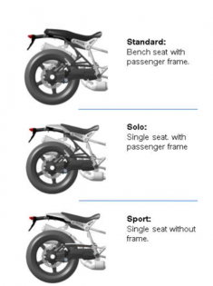 Like the original NineT, the Scrambler is ripe for customization. The subframe and passenger footpegs are removable, and there are three different seating options available from BMW. In authentic enduro form, the rider's footpeg's rubber inserts are removable to ensure grip in slippery conditions.