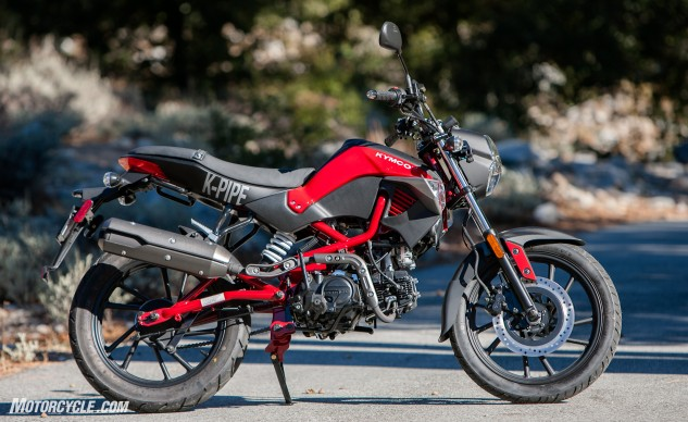 What you see is what you get: a basic, no-nonsense 125cc bike aimed at price-conscious riders for around-town use.