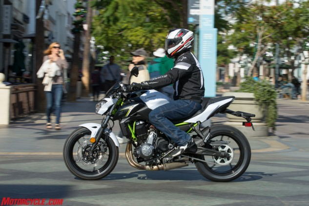In the market for an inexpensive naked bike that's also comfortable and stylish? Kawasaki's Z650 ticks all those boxes.
