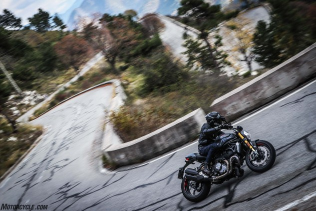 Ah, here's why owning a sportbike in Monaco makes sense! Just a 30-minute ride up the hill from Monte Carlo.