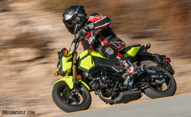 "Kevin called the Grom ""The Complete Package."" But for $3,200, you're paying a premium for that package."